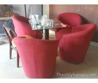 Thanh lý bàn ghế quán cafe 064