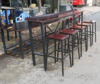 Thanh lý bàn ghế gỗ quán cafe