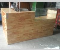 Thanh lý quày bar bằng gỗ