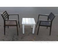 Thanh lý bàn ghế cafe 055
