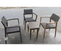 Thanh lý bàn ghế cafe 052