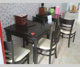 Thanh lý bàn ghế quán ăn